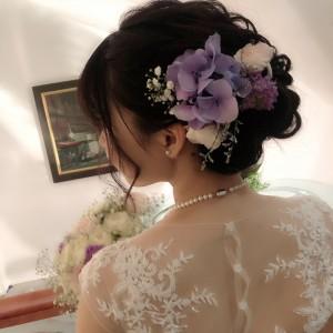 とても可愛らしい花嫁さんでした☆